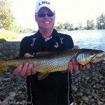 Trout fishing the city section of the Bow River