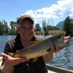 brown trout fishing Idaho