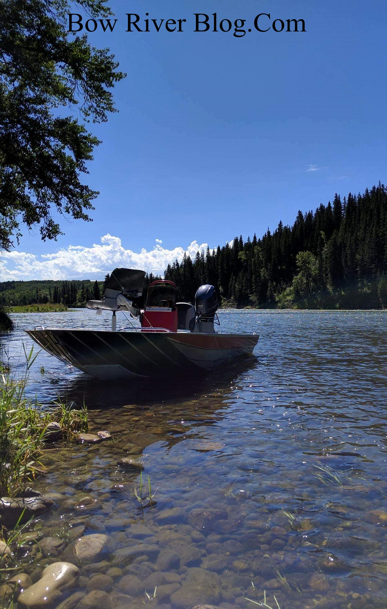 Guided bow river jet boat trips bow river blog for Fishing boat trips