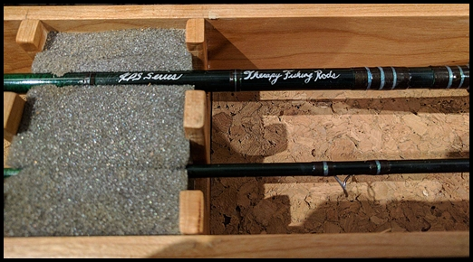 Alberta made custom spin fishing rods